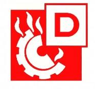Metallbrand-Auflade-Feuerlöscher