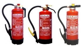 6 kg Pulver Auflade Feuerlöscher