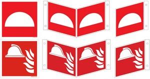 Mittel und Gerät zur Brandbekämpfung ISO u. BGV