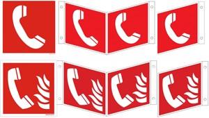 Brandmeldetelefon ISO und BGV