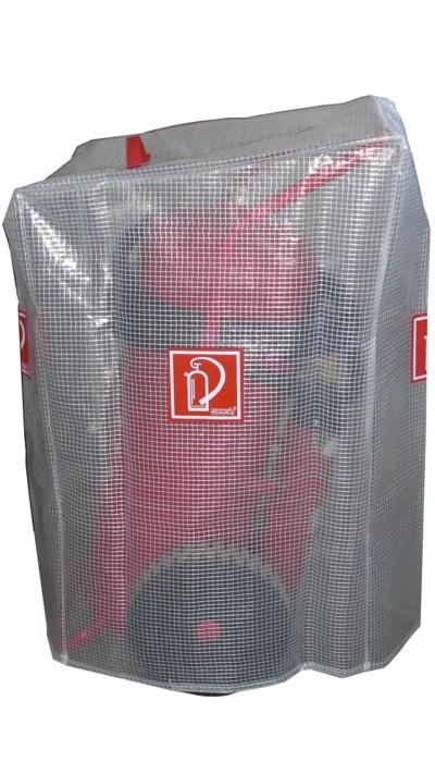 Göckler Gitternetzschutzhaube für 50 kg/L Feuerlöscher Löschwagen fahrbar