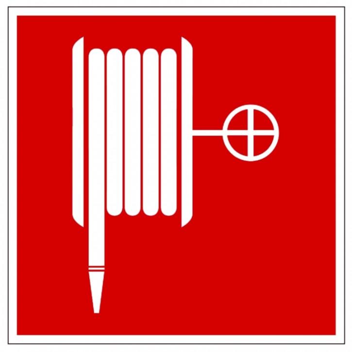 Hier klicken zur Auswahl von Göckler Löschschlauch/ Wandhydranten-Schild BGV A8 F03, von 150-200 mm in verschiedenen Materialien