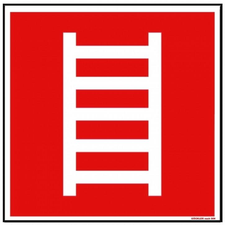 Hier klicken zur Auswahl von Göckler Leiter-Rettungsleiter-Schild BGV A8 F04, von 150-200 mm in verschiedenen Materialien