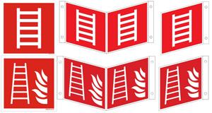 Leiter-Rettungsleiter ISO u. BGV